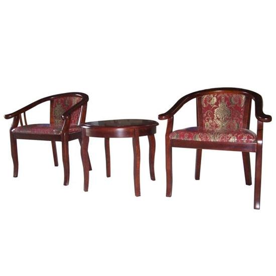 Bàn ghế khách sạn BKS04 + GKS04
