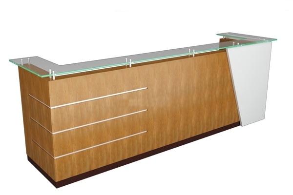 bàn quầy lễ tân 48 gỗ sơn hoặc verneer