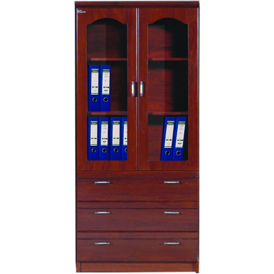 Tủ tài liệu gỗ sơn PU cao cấp DC940H2