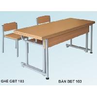 Bàn bán trú BBT103-6 + GBT103-6