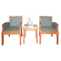 Bàn ghế khách sạn BKS01 + GKS01