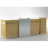 bàn quầy lễ tân 46 gỗ sơn hoặc verneer