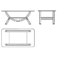 Bàn sofa BSF81