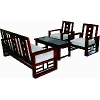 Sofa gỗ tự nhiên SF72