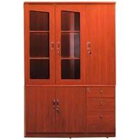 Tủ tài liệu gỗ sơn PU cao cấp DC1350H4