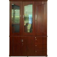 Tủ tài liệu gỗ sơn PU cao cấp DC1350H5